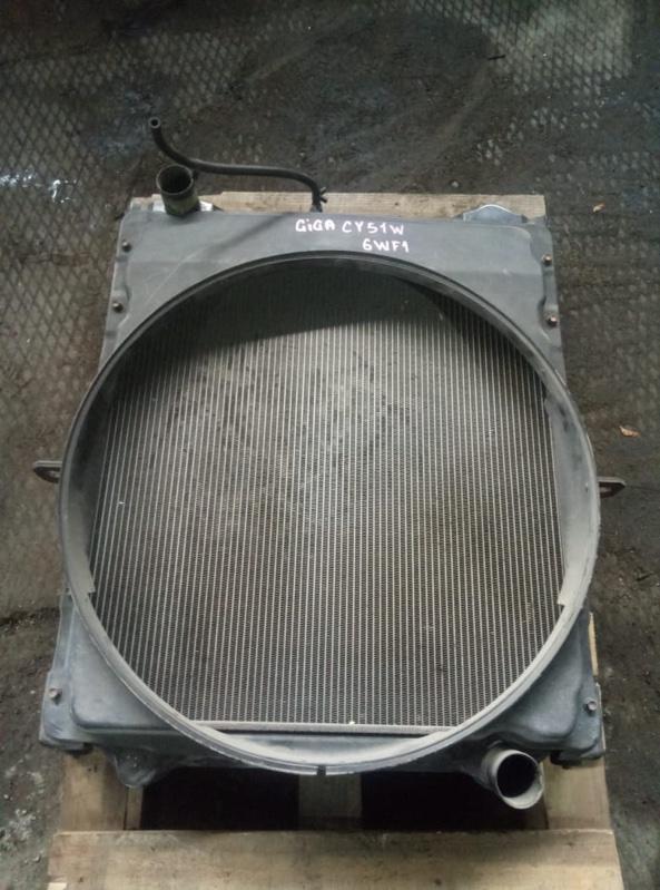 Диффузор радиатора Isuzu Giga CY51W 6WF1 (б/у)