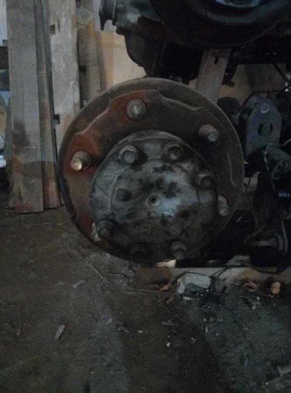 Барабан тормозной Mazda Titan WGEAT HA (б/у)