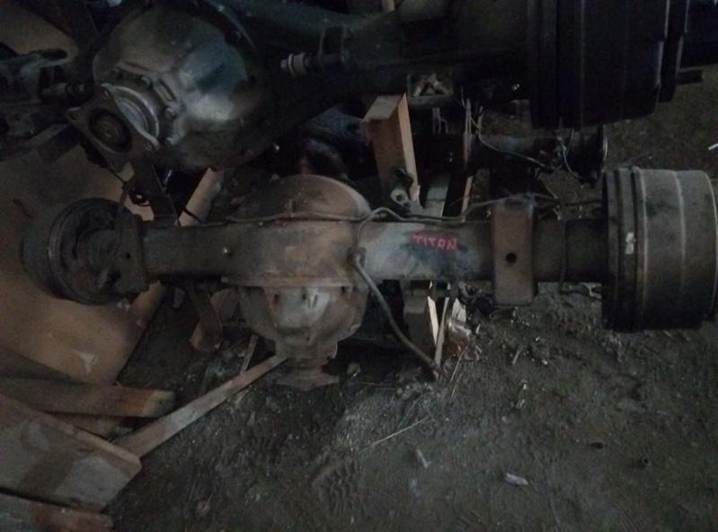 Чулок моста Mazda Titan WGEAT HA задний (б/у)