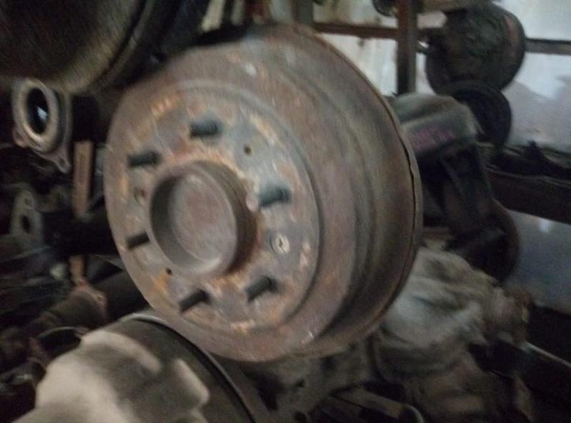 Барабан тормозной Nissan Vanette SS28MN R2 (б/у)