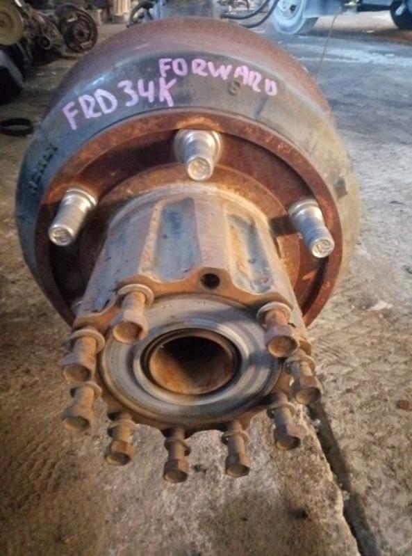 Барабан тормозной Isuzu Forward FSR33 6HL1 задний (б/у)