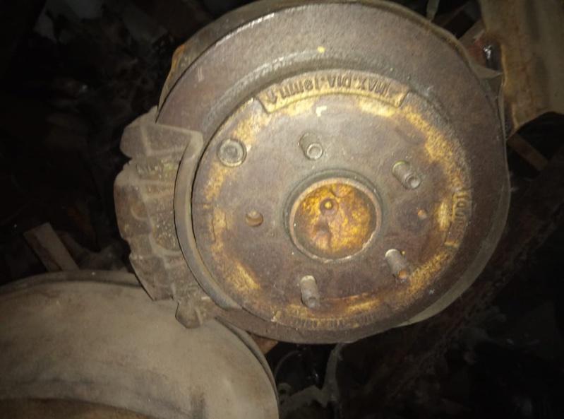 Тормозной диск Mazda Bongo Friendee SGLR WL-T задний (б/у)