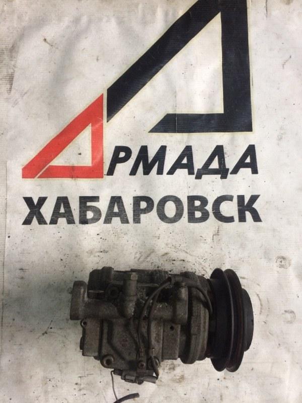 Компрессор кондиционера Toyota Surf KZN185 1KZ-TE (б/у)