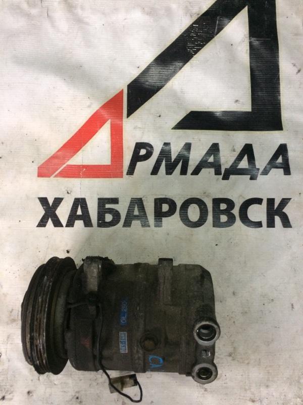 Компрессор кондиционера Nissan Vanette KMC22 CA20 (б/у)