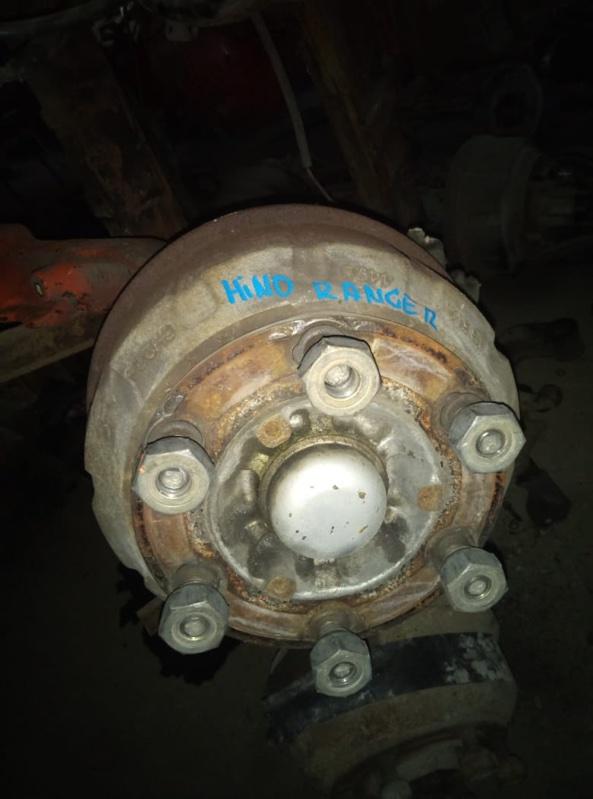 Гайка на колесо Hino Ranger FC3 J07E передняя (б/у)