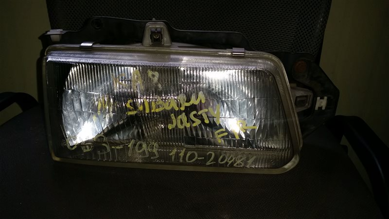 Фара Subaru Justy KA8 передняя правая (б/у)