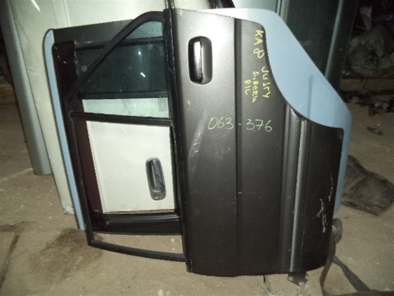 Дверь Subaru Justy KA8 задняя левая (б/у)