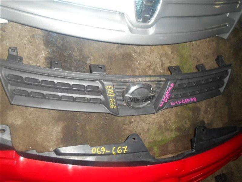 Решетка радиатора Nissan Wingroad Y12 (б/у)