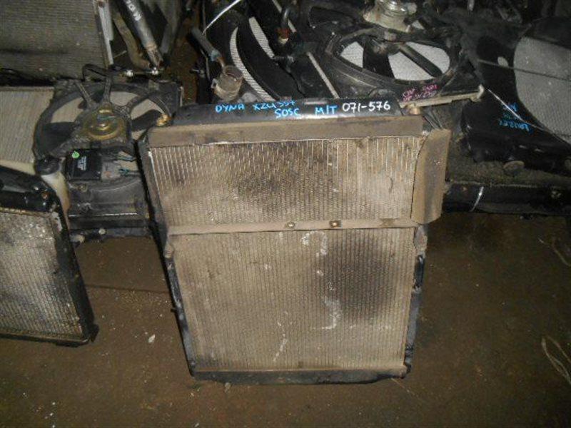 Радиатор охлаждения Toyota Dyna XZU337 S05C (б/у)