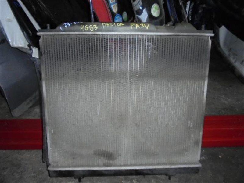 Радиатор охлаждения Mitsubishi Delica PA3V 4G63 (б/у)