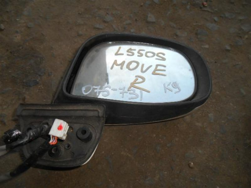 Зеркало Daihatsu Move L550S переднее правое (б/у)