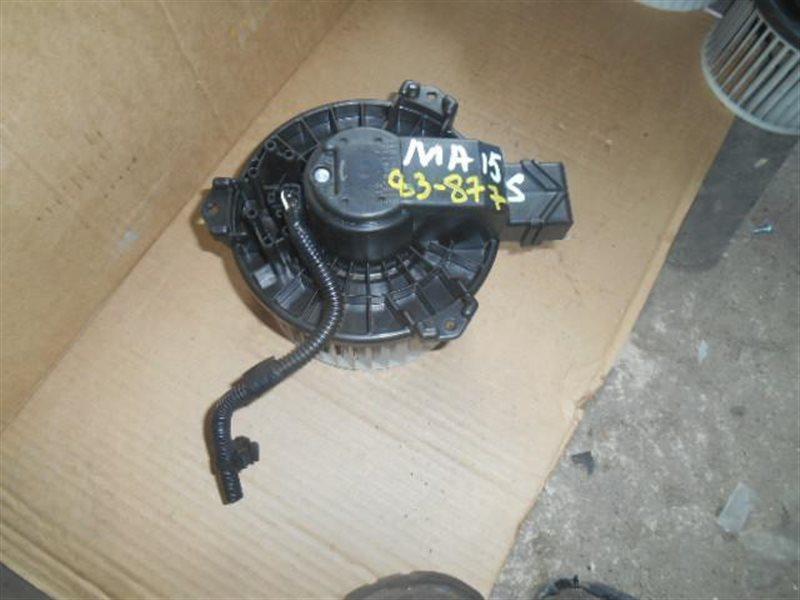 Мотор печки Suzuki Solio MA15S (б/у)