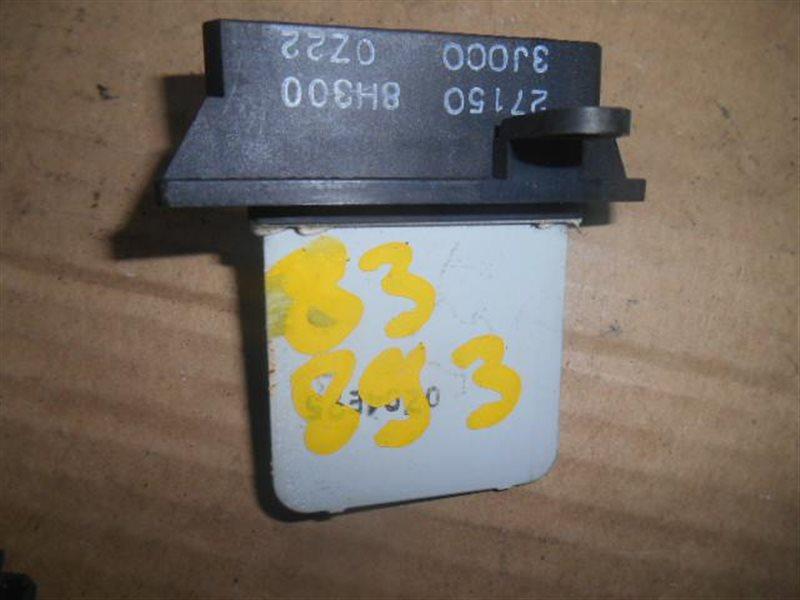 Регулятор печки Nissan Sunny FB15 (б/у)