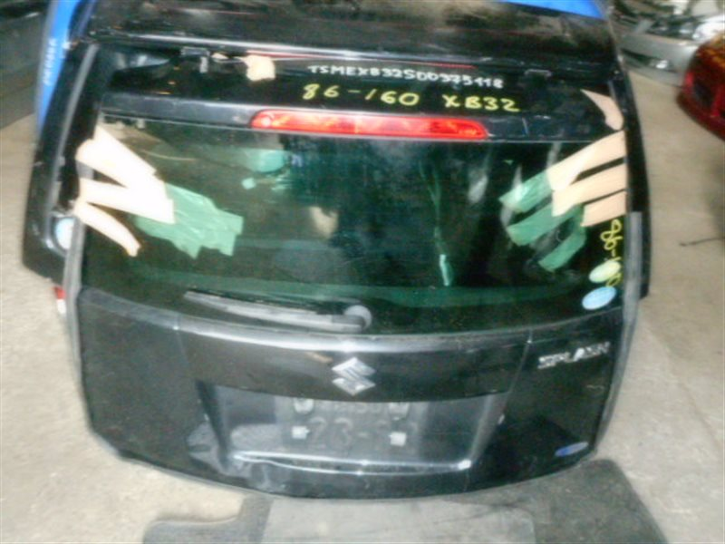 Дверь 5-я Suzuki Splash XB32S задняя (б/у)