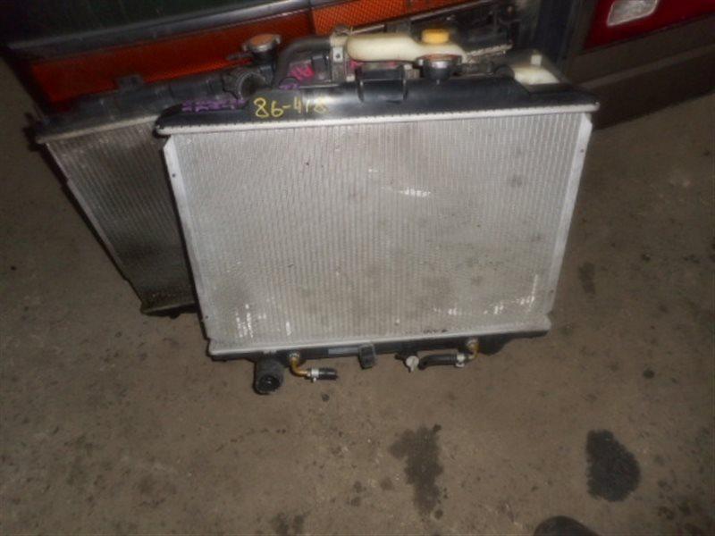 Радиатор охлаждения Nissan Caravan E25 KA24 (б/у)