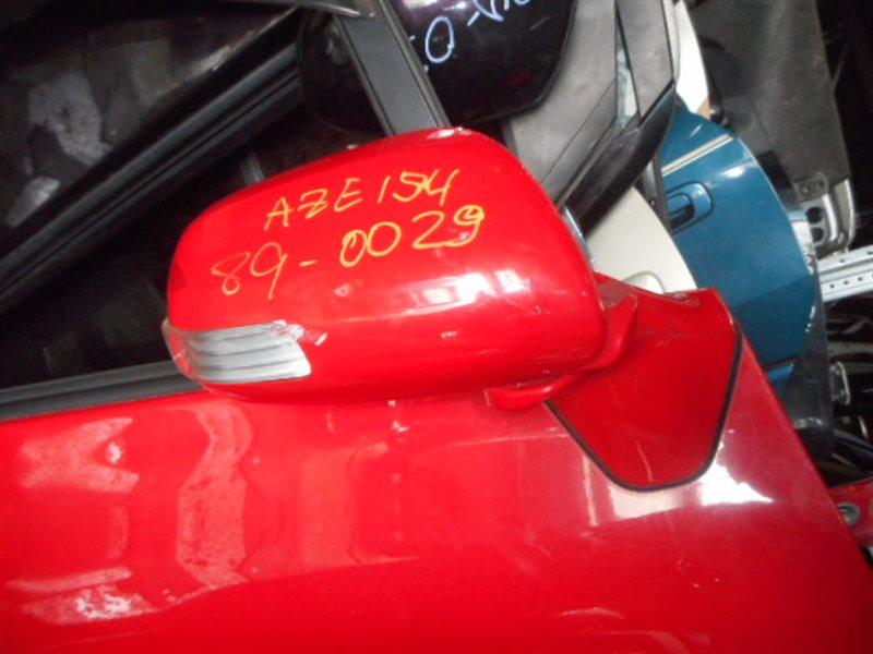 Зеркало Toyota Blade AZE154 переднее правое (б/у)