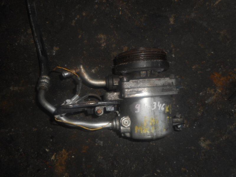 Компрессор кондиционера Suzuki Spacia MK21S K6AT (б/у)