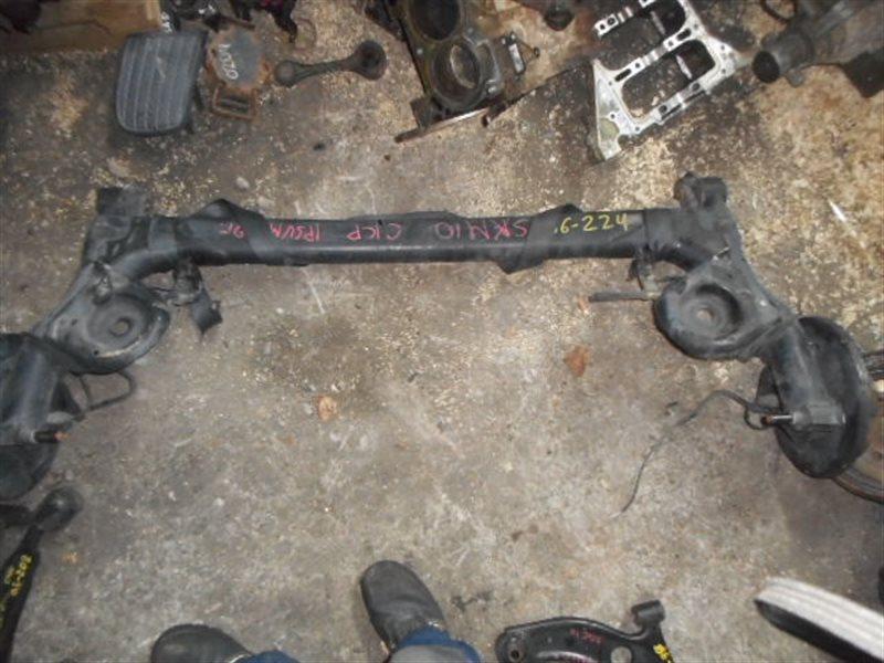Балка со ступицами Toyota Ipsum SXM10 3S задняя (б/у)