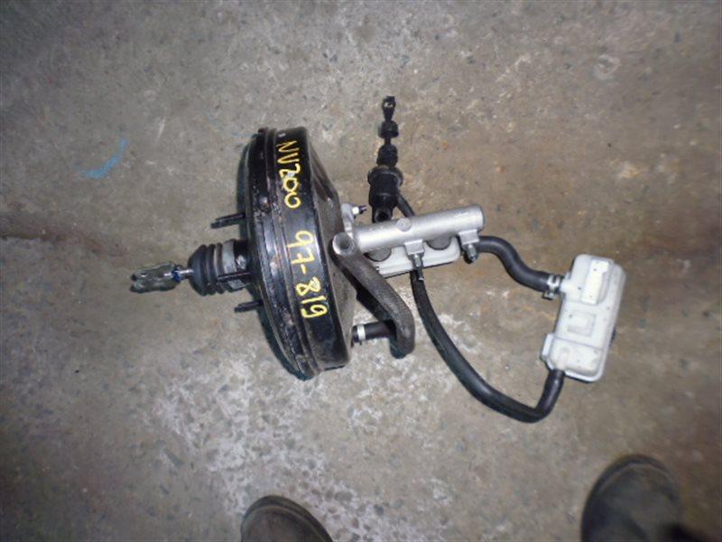 Главный тормозной цилиндр Nissan Nv200 VM20 HR16 (б/у)