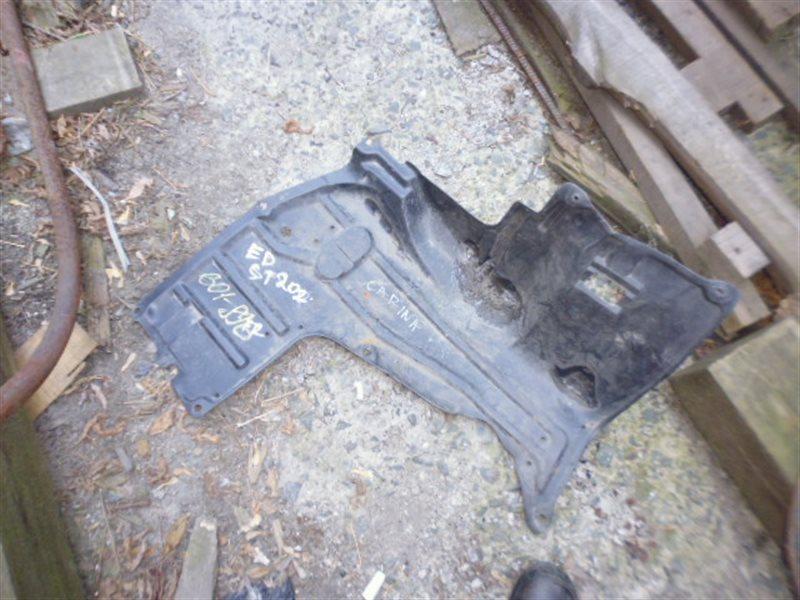 Защита двигателя Toyota Carina Ed ST202 3S правая (б/у)