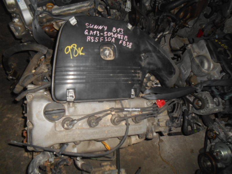 Двигатель Nissan Sunny B13 GA13DS (б/у)