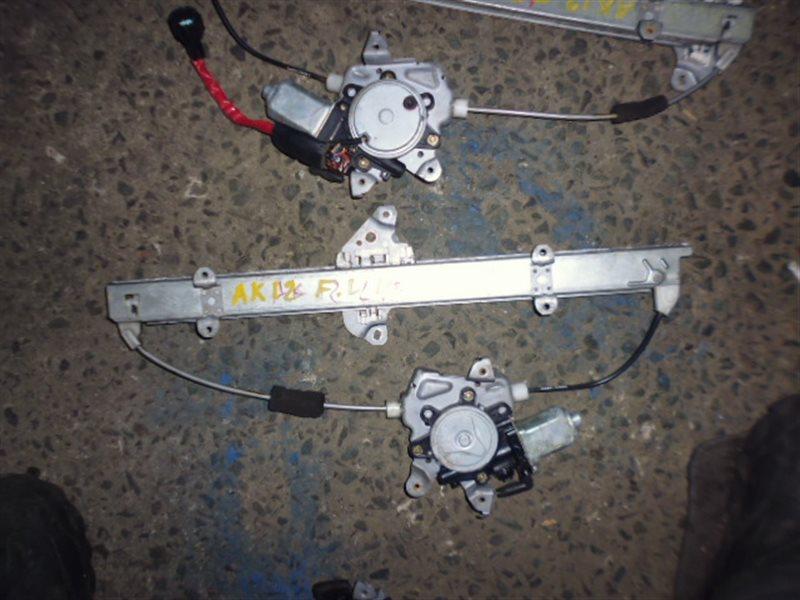 Стеклоподъемный механизм Nissan March AK12 передний левый (б/у)