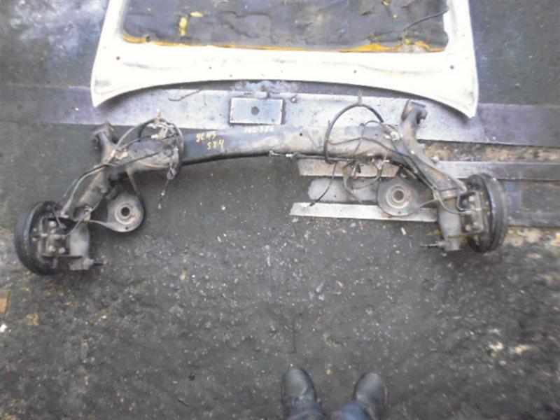 Балка со ступицами Suzuki Sx4 YC11S задняя (б/у)