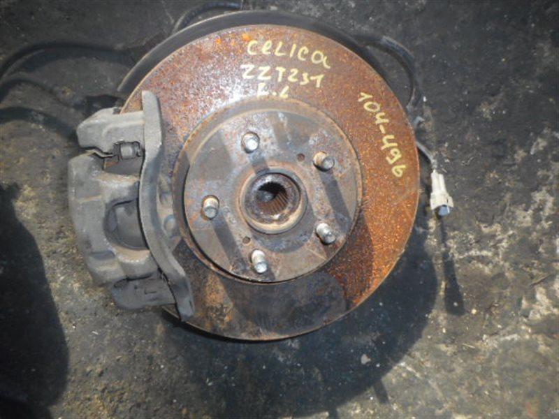 Ступица Toyota Celica ZZT231 2ZZGE передняя левая (б/у)