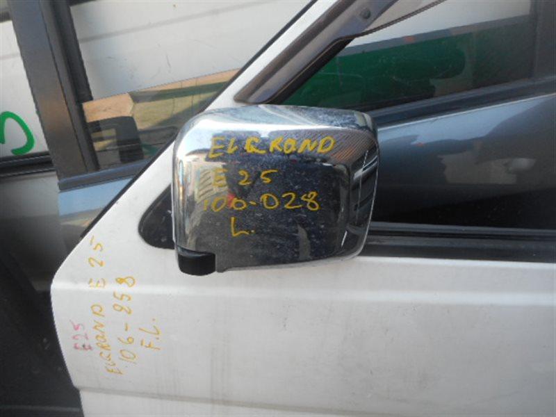 Зеркало Nissan Caravan E25 переднее левое (б/у)
