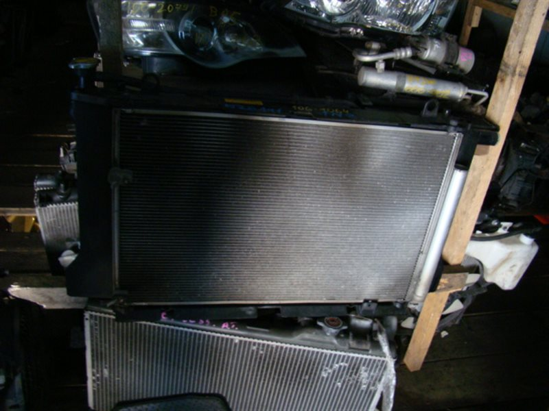 Радиатор охлаждения Toyota Corolla Fielder NZE141 1NZFE (б/у)