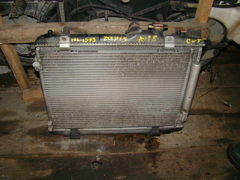 Радиатор охлаждения Suzuki Swift ZC71S K12B (б/у)