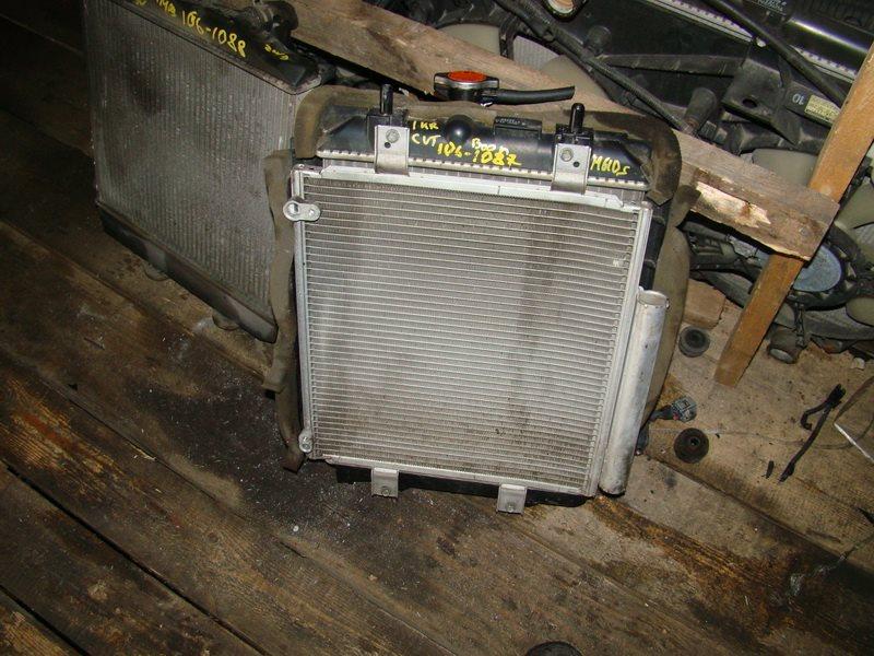 Радиатор охлаждения Daihatsu Boon M610S 1KR (б/у)