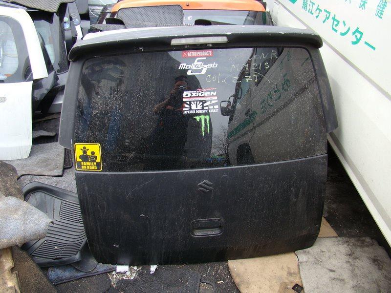 Дверь 5-я Suzuki Wagon R MH21S задняя (б/у)