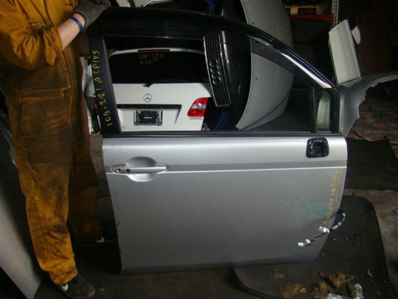 Дверь Toyota Spade NCP145 передняя правая (б/у)