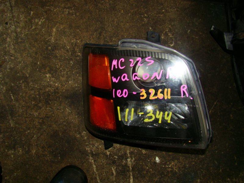 Фара Suzuki Wagon R MC22S передняя правая (б/у)