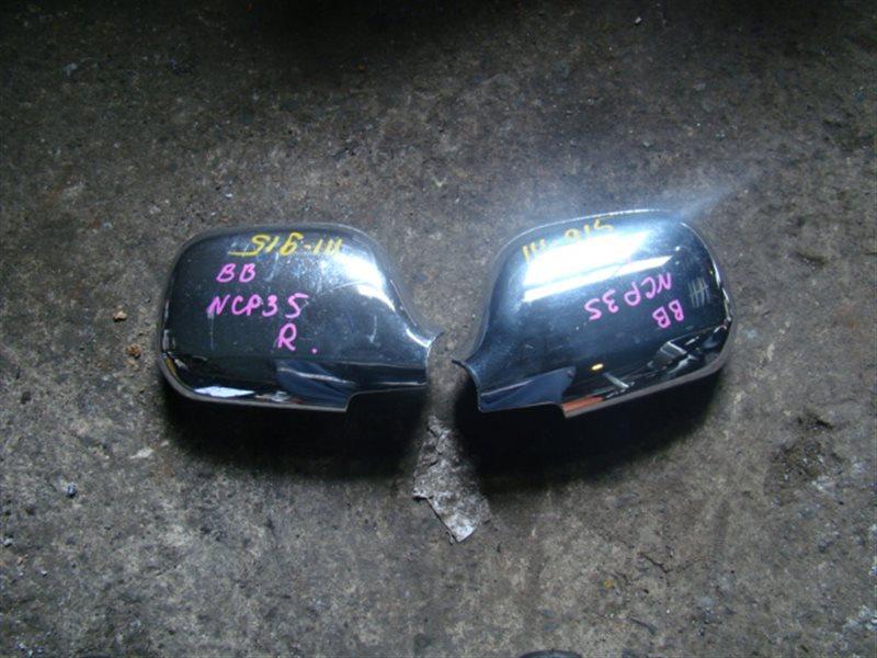 Накладка на зеркало Toyota Bb NCP35 (б/у)