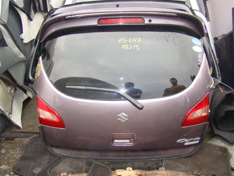 Дверь 5-я Suzuki Cervo HG21S задняя (б/у)