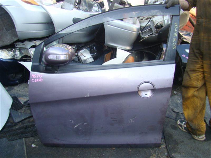 Дверь Suzuki Cervo HG21S передняя левая (б/у)