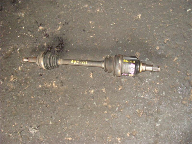 Привод Toyota Bb NCP35 1NZFE передний левый (б/у)