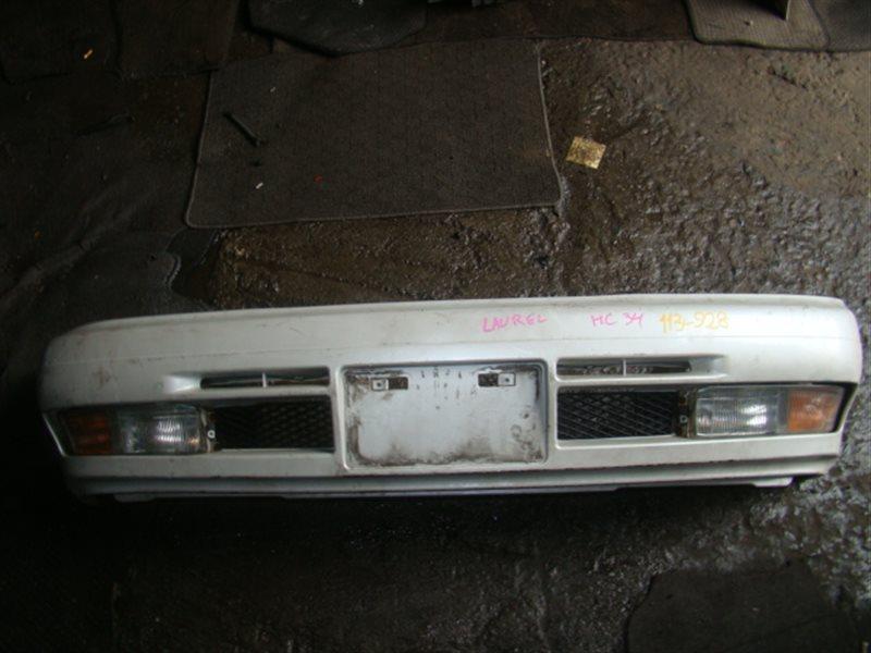 Бампер Nissan Laurel HC34 передний (б/у)