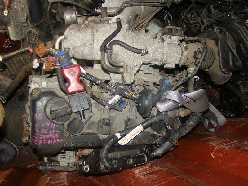 Двигатель Nissan Wingroad VY11 QG13DE (б/у)