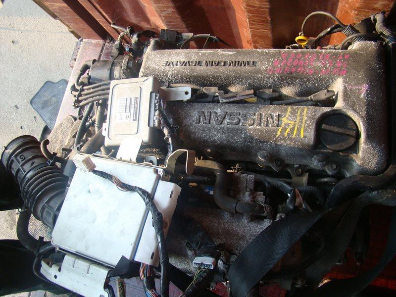 Двигатель Nissan Bluebird HU14 SR20DE (б/у)