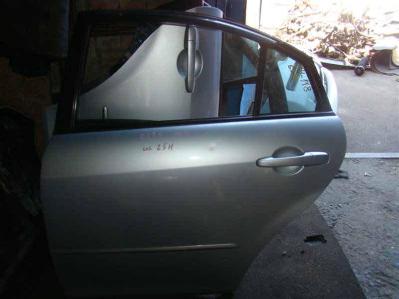 Дверь Mazda Atenza GG3S задняя левая (б/у)