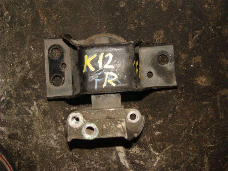 Подушка двигателя Nissan March AK12 CR12DE передняя правая верхняя (б/у)