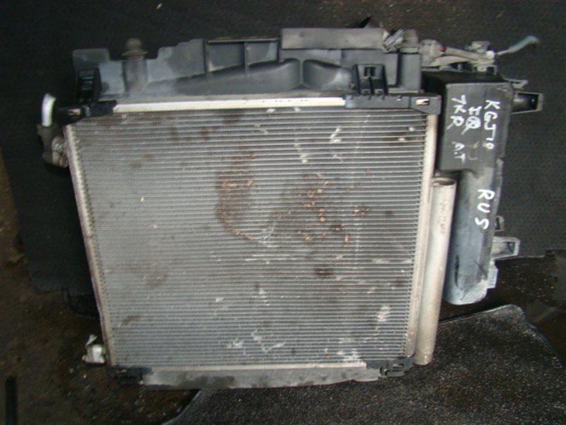 Радиатор охлаждения Toyota Iq KGJ10 1KR (б/у)