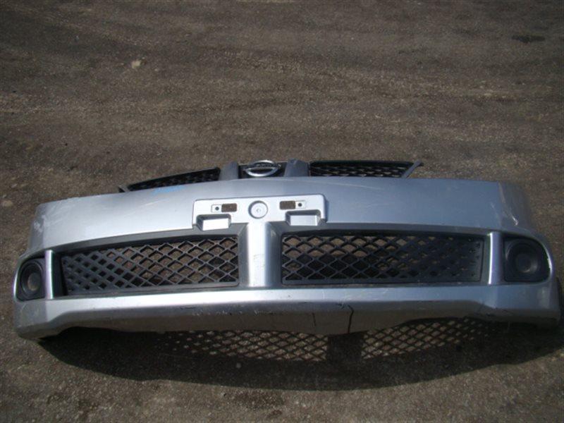 Бампер Nissan Wingroad WFY11 передний (б/у)