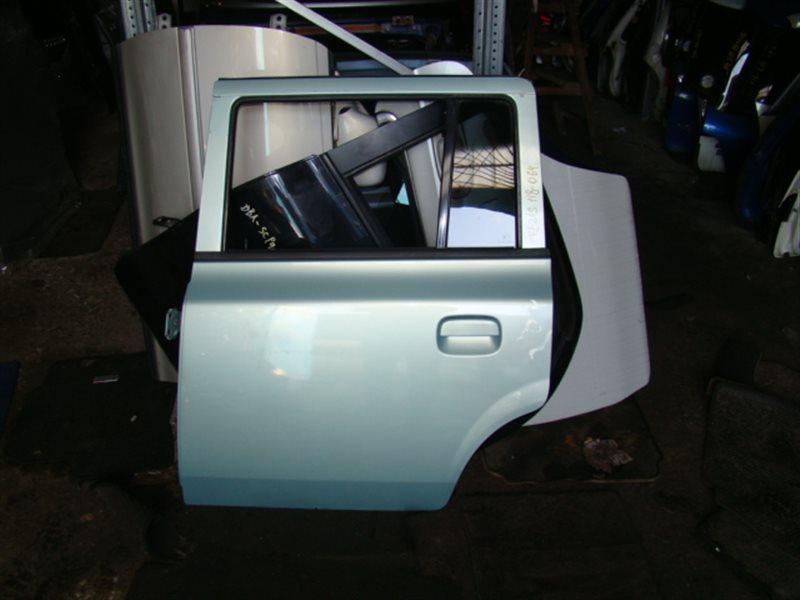 Дверь Suzuki Lapin HE21S задняя левая (б/у)
