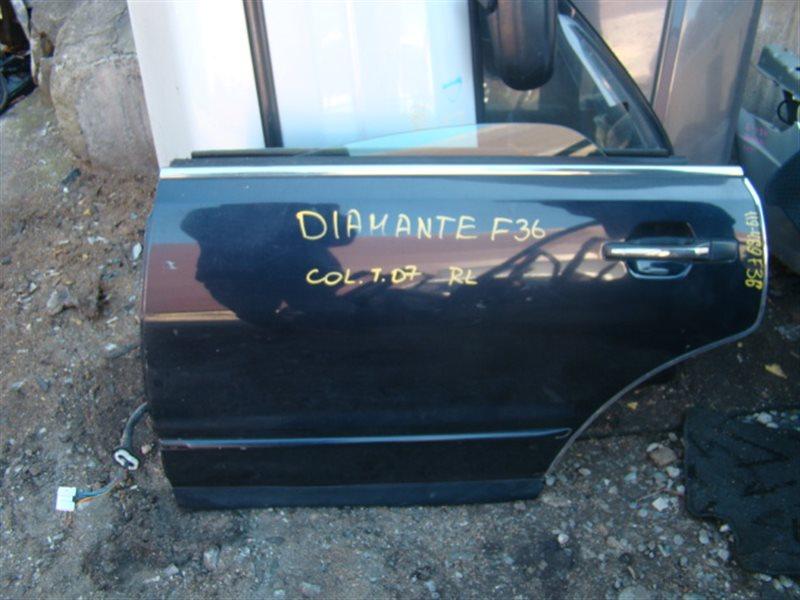Дверь Mitsubishi Diamante F36A задняя левая (б/у)