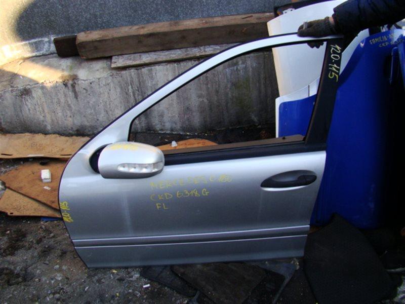 Дверь Mercedes-Benz C180 W203 111 передняя левая (б/у)