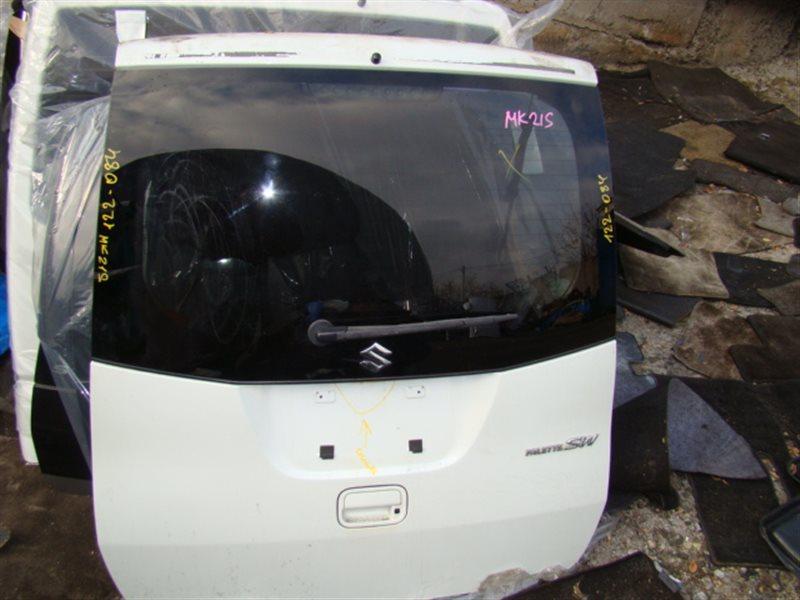 Дверь 5-я Suzuki Spacia MK21S задняя (б/у)